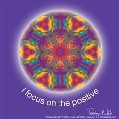 Healing Mandala Art and Positive Affirmations
