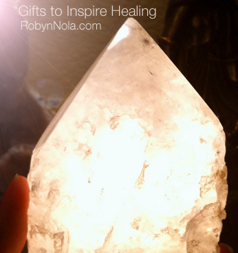 Natural Quartz Lamp