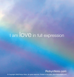 I am love in full expression.