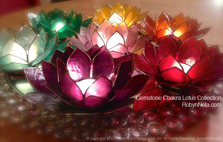 Gemstone chakra lotus candle holder collection inspirational lotus gemstone chakra lotus candle holder collection inspirational lotus gifts mightylinksfo