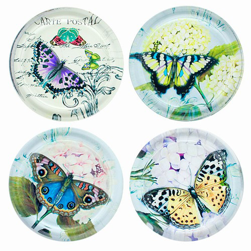 Butterfly Drink Coasters: Inspirational Butterfly Gifts