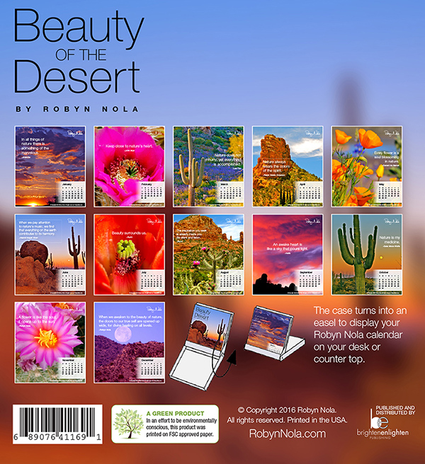 New Orleans Festival Calendar 2022.Beauty Of The Desert 2022 Calendar By Robyn Nola Robyn Nola Gifts