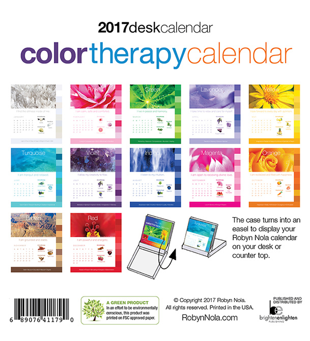 New 2018 Color Therapy