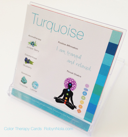 Color Therapy Cards by Robyn Nola